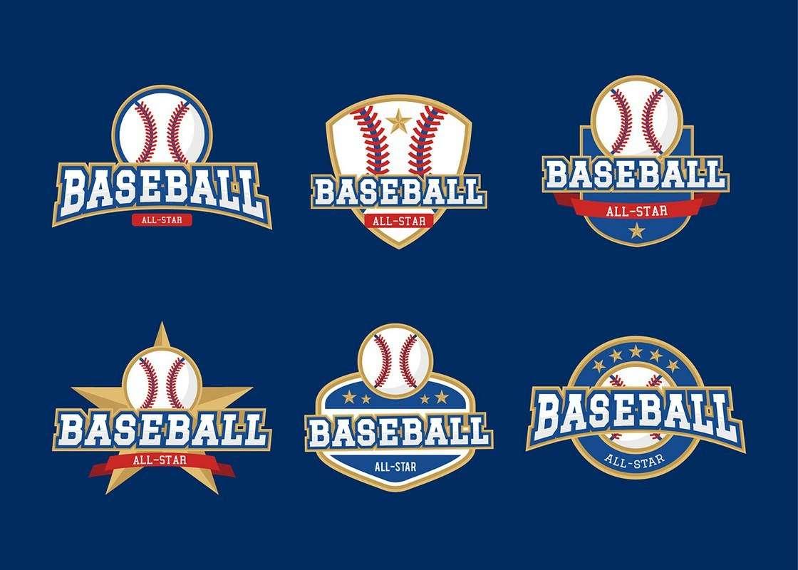 Baseball All-Star Badges