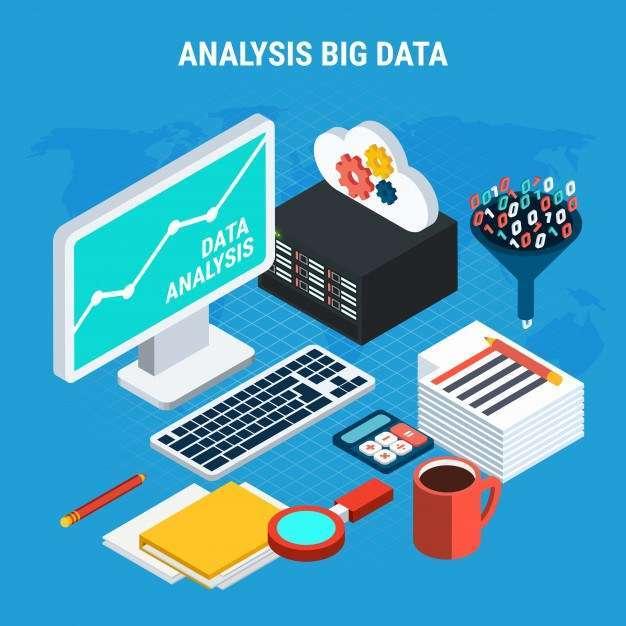 Big data analysis isometric