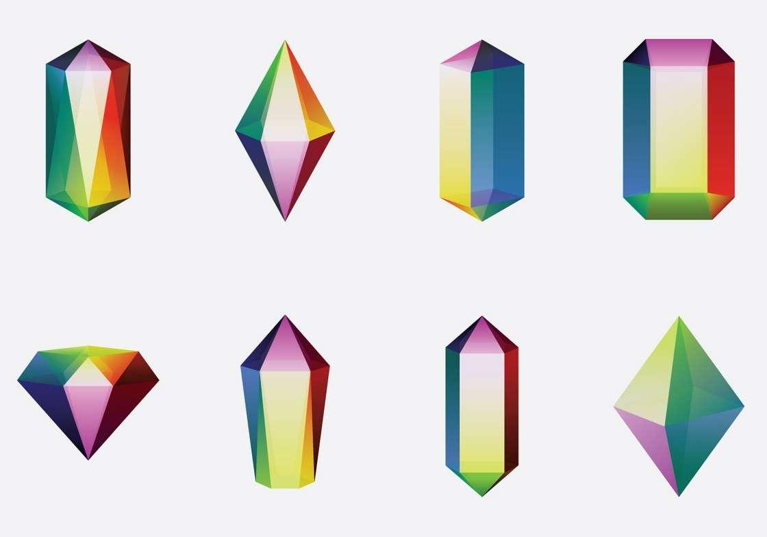 Colorful Quartz Crystal