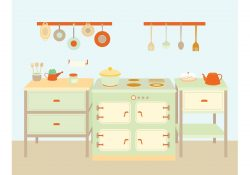 Cooking Utensils and Equipment Vectors