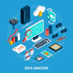 Data analysis isometric setor