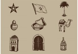 Morocco Vector Elements
