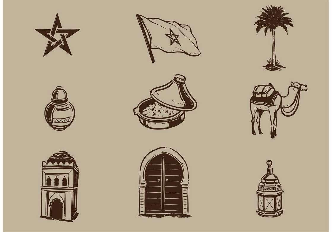 Morocco Vector Elements