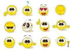 Free Smiley Emoticon Vector Set