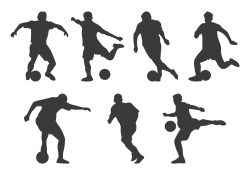 Futsal Player Silhouette