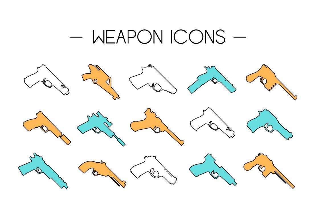 Gun Collection Icons
