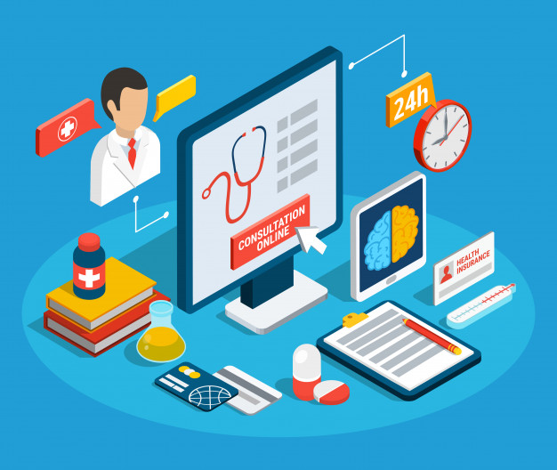 Medical consultation isometric