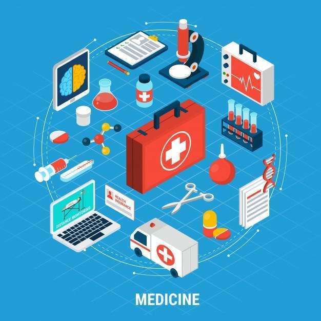 Medicine isometric