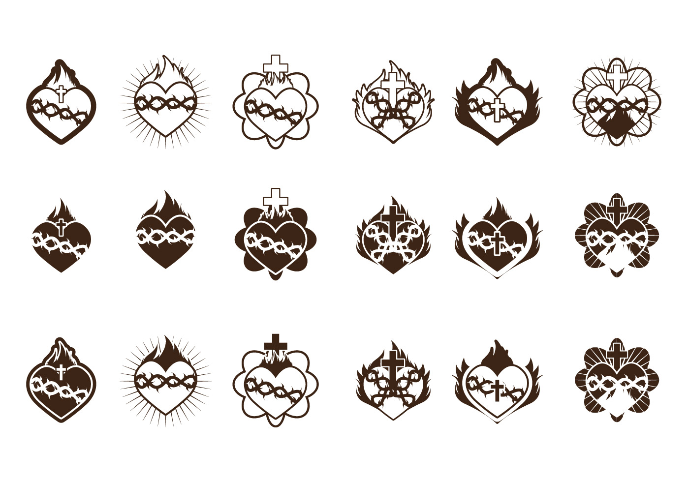 Sacred Heart Icon Collection