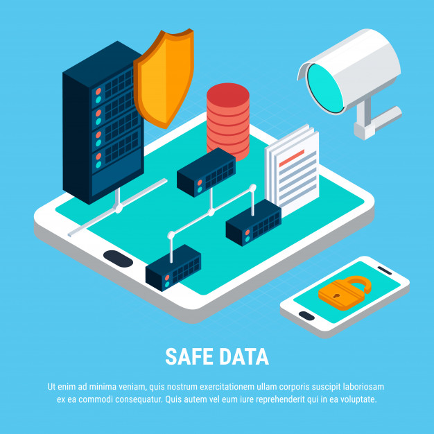 Safe data isometric