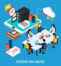 Statistical data analysis isometric