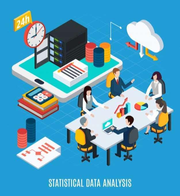 Statistical data analysis isometric