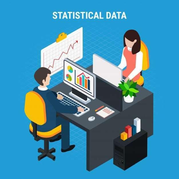 Statistical data isometric