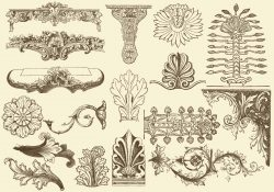 Acanthus Decorations