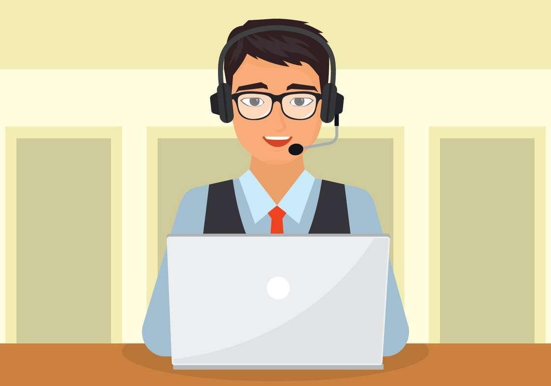 Customer Service Character