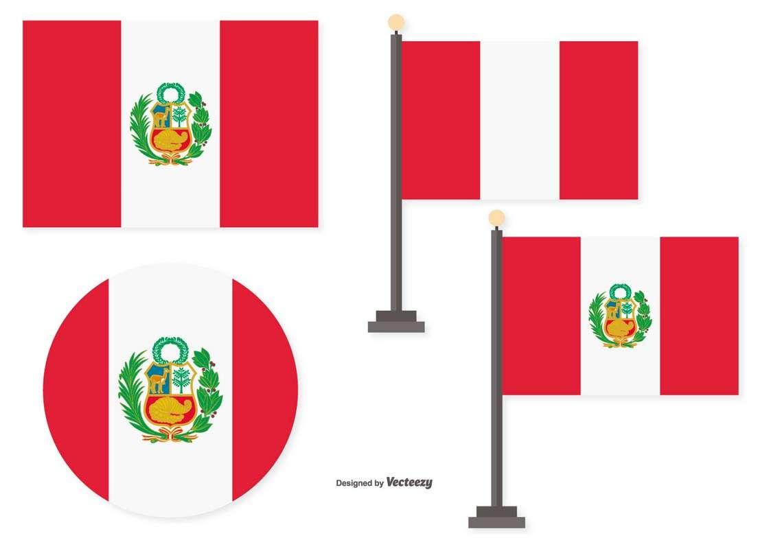 Flags of Peru