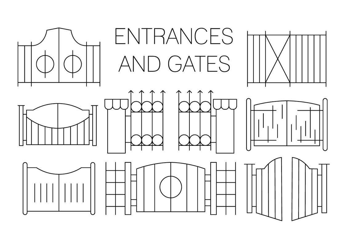 Free Gate Icons