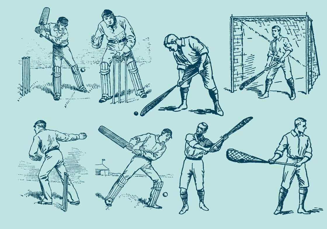Grass Sport Drawings