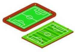 Isometric Soccer Fields