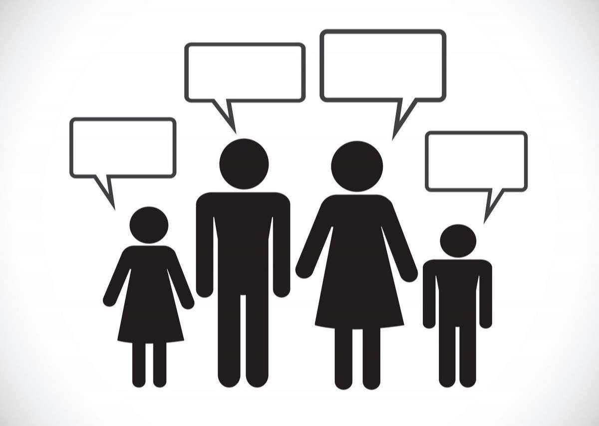 Man People Thinking Talking Conversation Icon