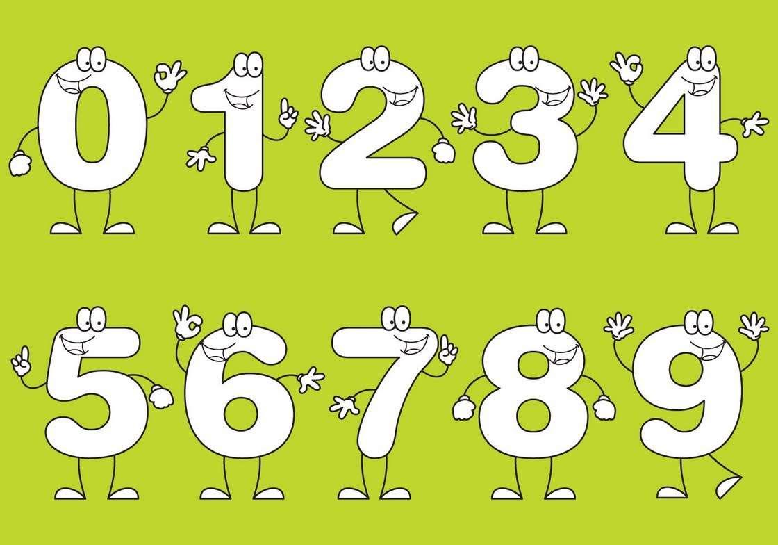 Number Cartoons