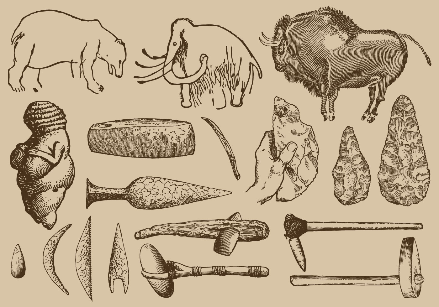 Prehistoric Art And Tools