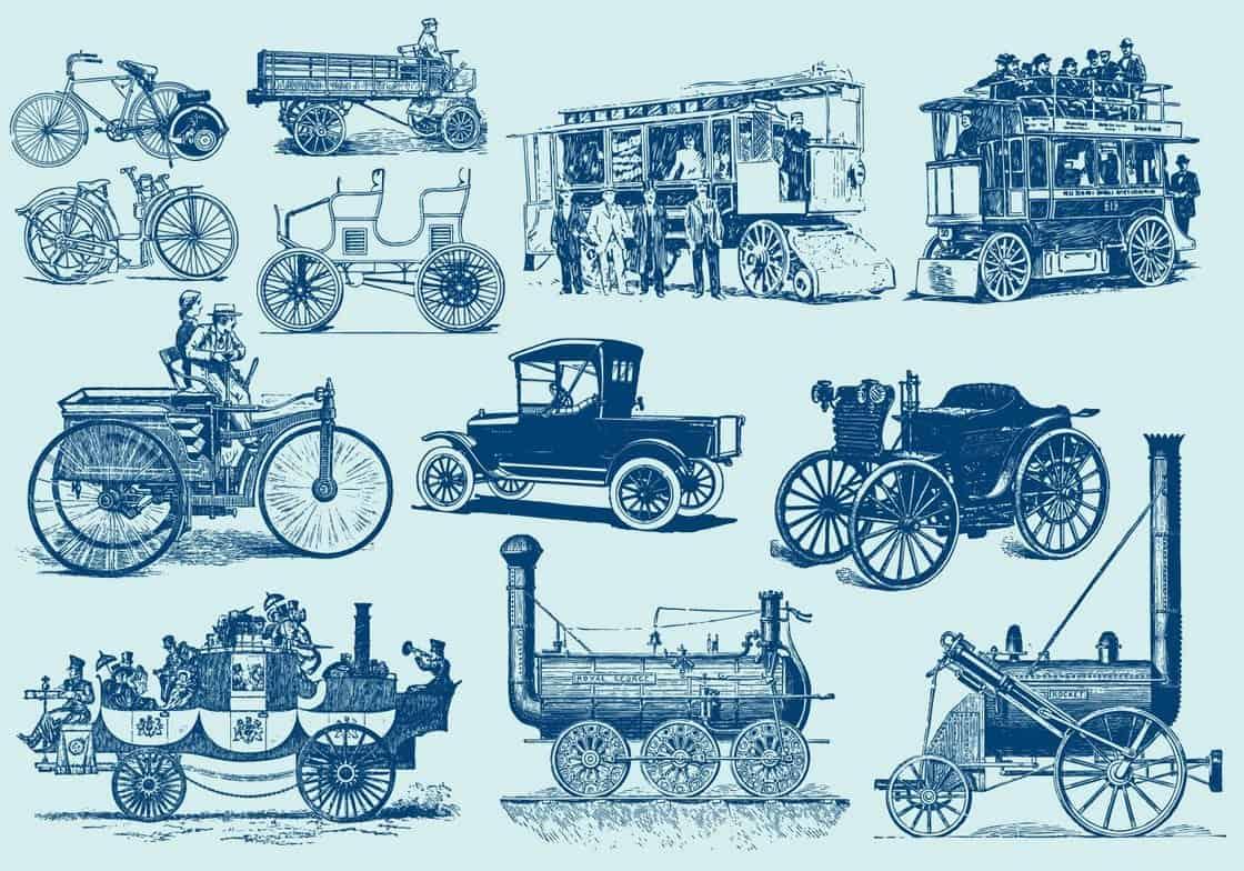 Vintage Motor Vehicles