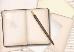 Vintage Blank Block Notes