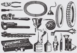 Vintage Mechanic Tools