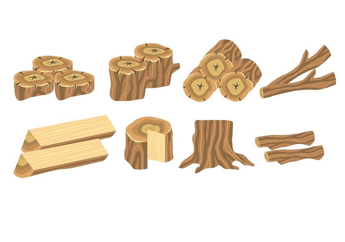 Wood Log Icons