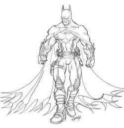 batman beyond coloring pages