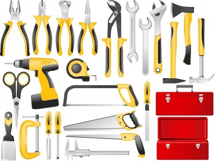 Building Tools Set 01 Vector