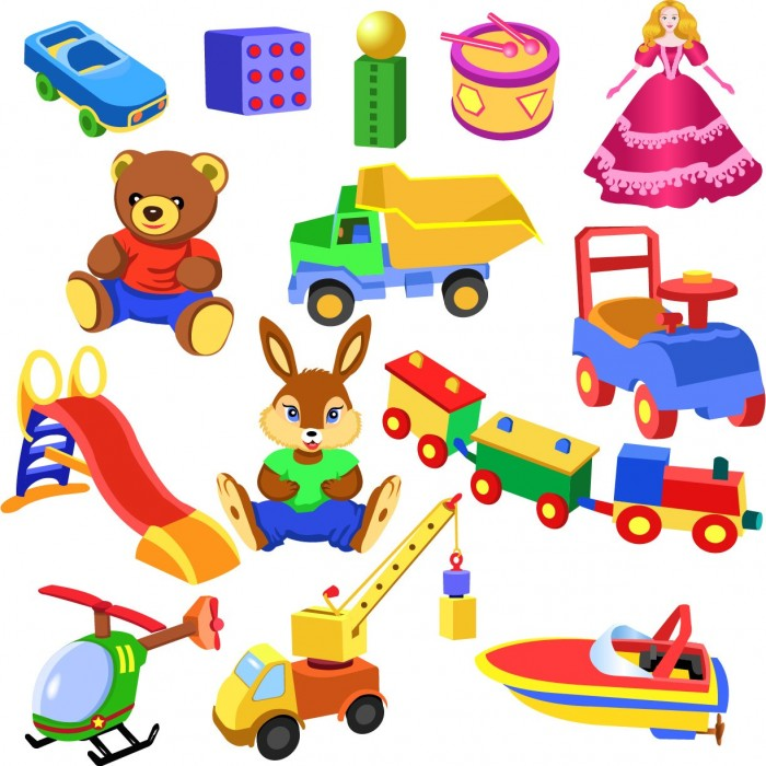 Children Toys 1 Vector