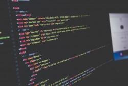Computer Code Screen