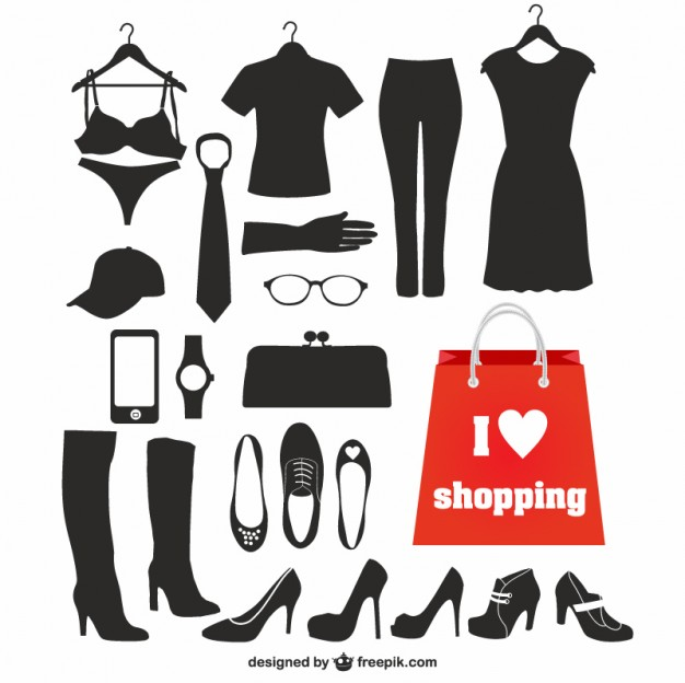 Fashion vector silhouettes   Vector | Free Download
