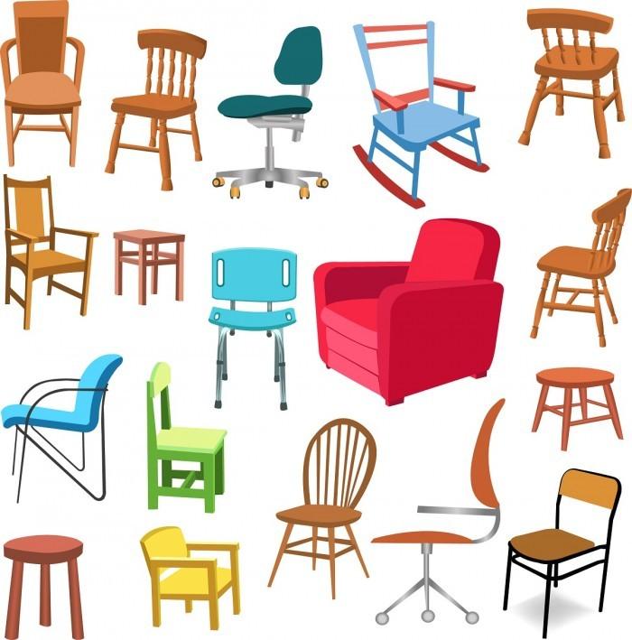 Furniture set 02 Vector