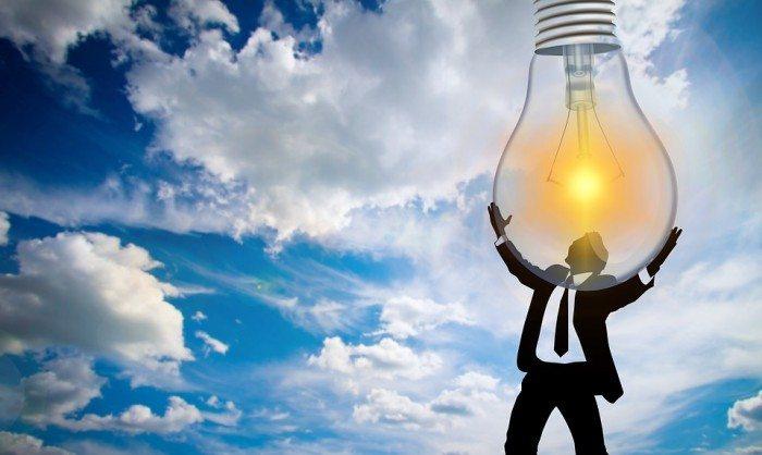 Person Pear Light Bulb