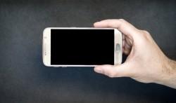 Smartphone Screen Horizontal